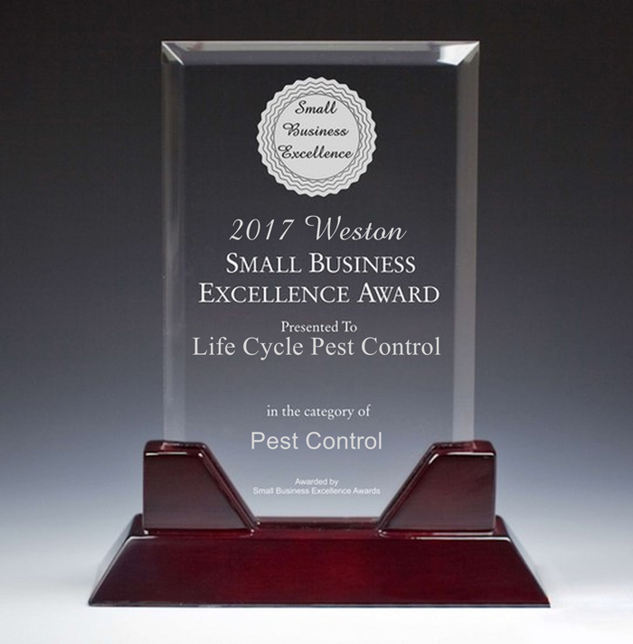 2017 Weston Small Business Excellence Award